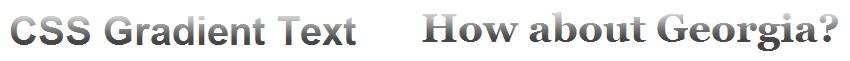 Efecto de gradiente en texto sólo con CSS