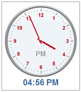 TimePicker Clock