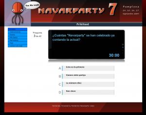 Pantalla de ejemplo de Date El Bit de la Navarparty 7